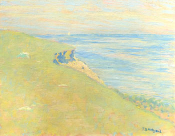 THOMAS BUFORD METEYARD    The Cliff, Scituate, Springtime   Oil on canvas 13 x 16 inches (33 x 40.6 cm) $8,500 Click here for more information