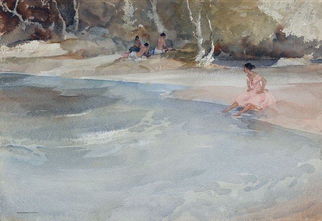 William Russell Flint | A Group of Three