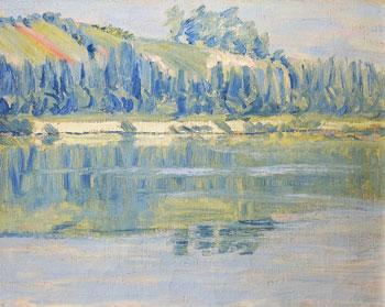 THOMAS BUFORD METEYARD (1865–1928)  The Banks of the Seine