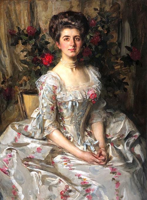 SIR JAMES JEBUSA SHANNON (1862–1923)  Miss Virginia Gammell