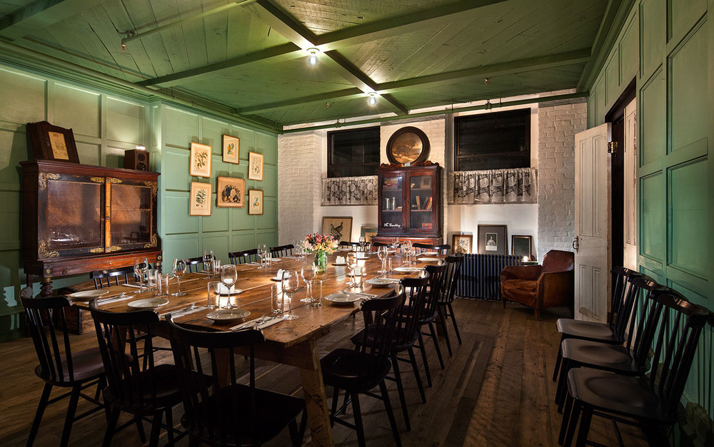 private dining freemans restaurant