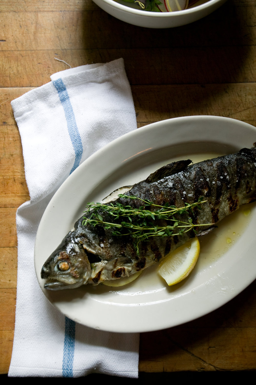 Roasted Trout     Photo Download