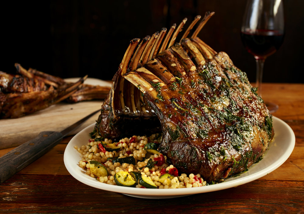 Private Party Menu - Lamb Roast     Photo Download