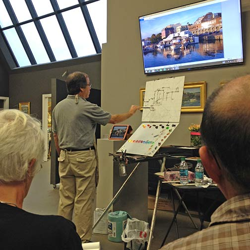 Kevin Macpherson's workshop