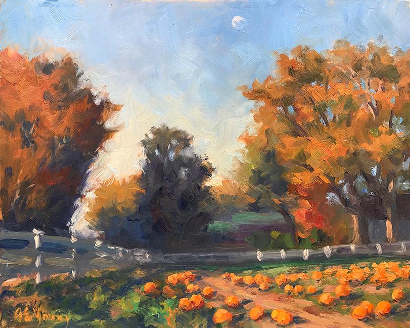 """October Pumpkins, Hanover"""