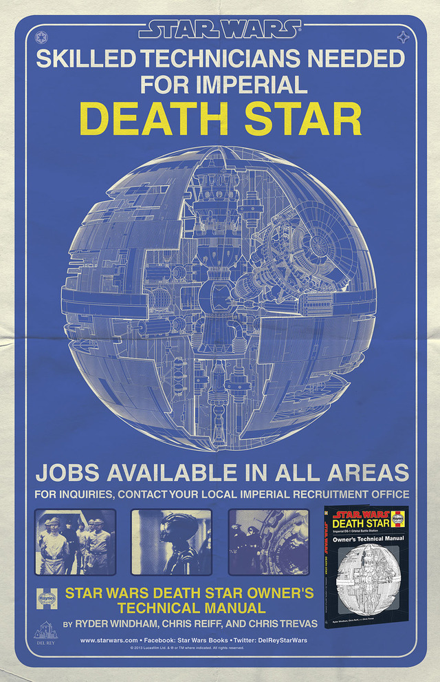 Poster to promote Death Star Owner's Manual