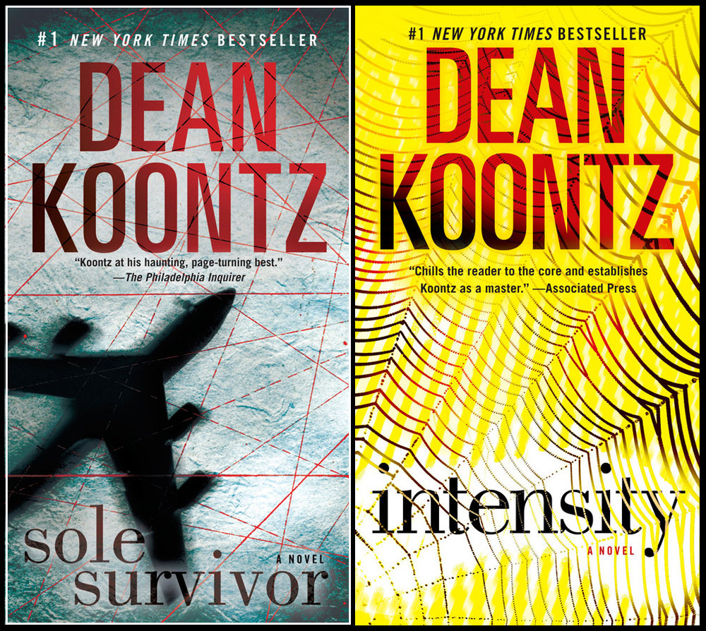 Dean Koontz Paperback Repackages
