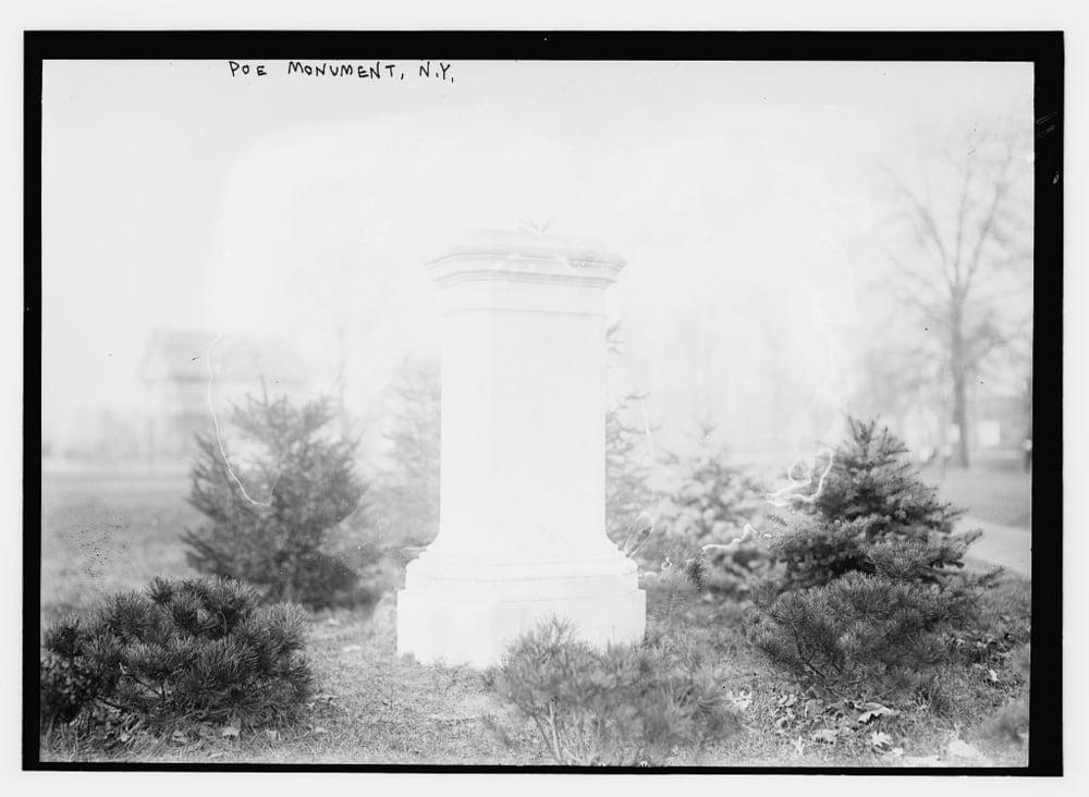 Poe monument, NY