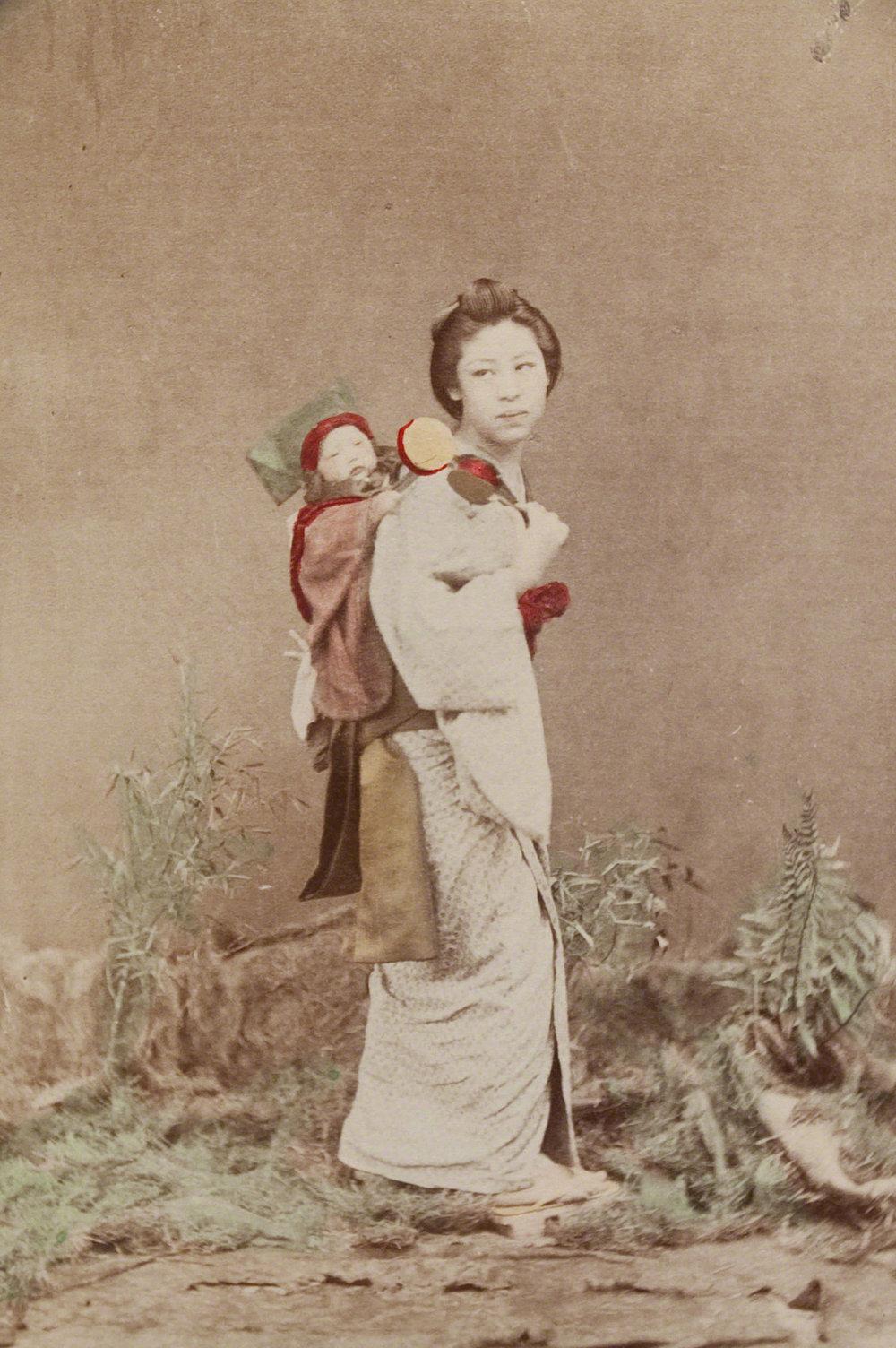 Artist: Kusakabe Kimbei (Japanese, 1841 - 1934). Albumen print.