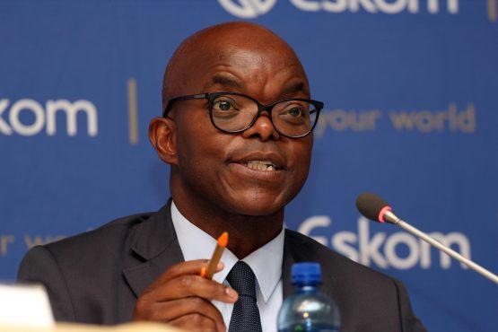 Eskom acting CEO Phakamani Hadebe.