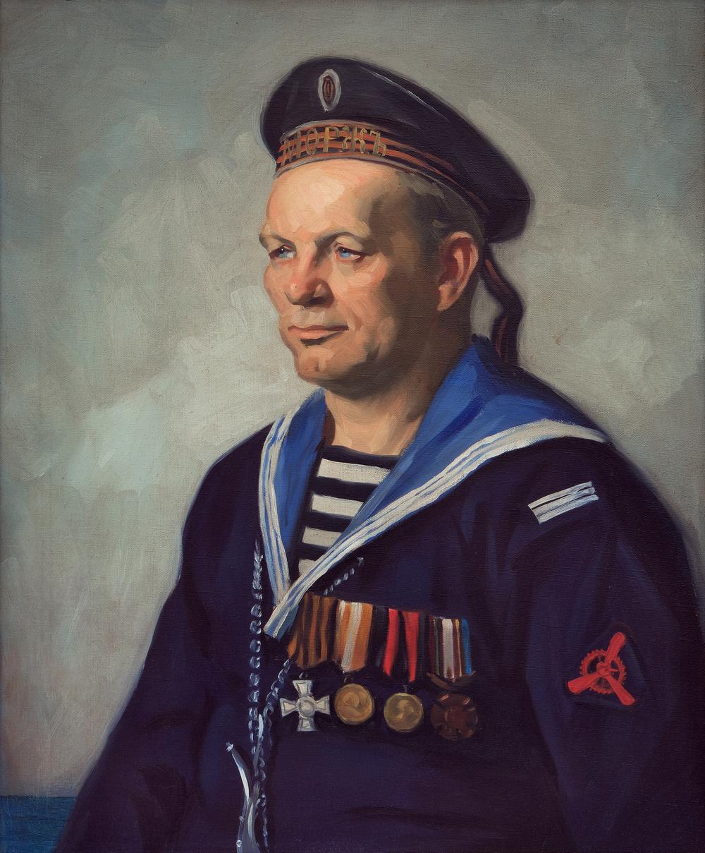 Albert Alexander Smith Russian Portait
