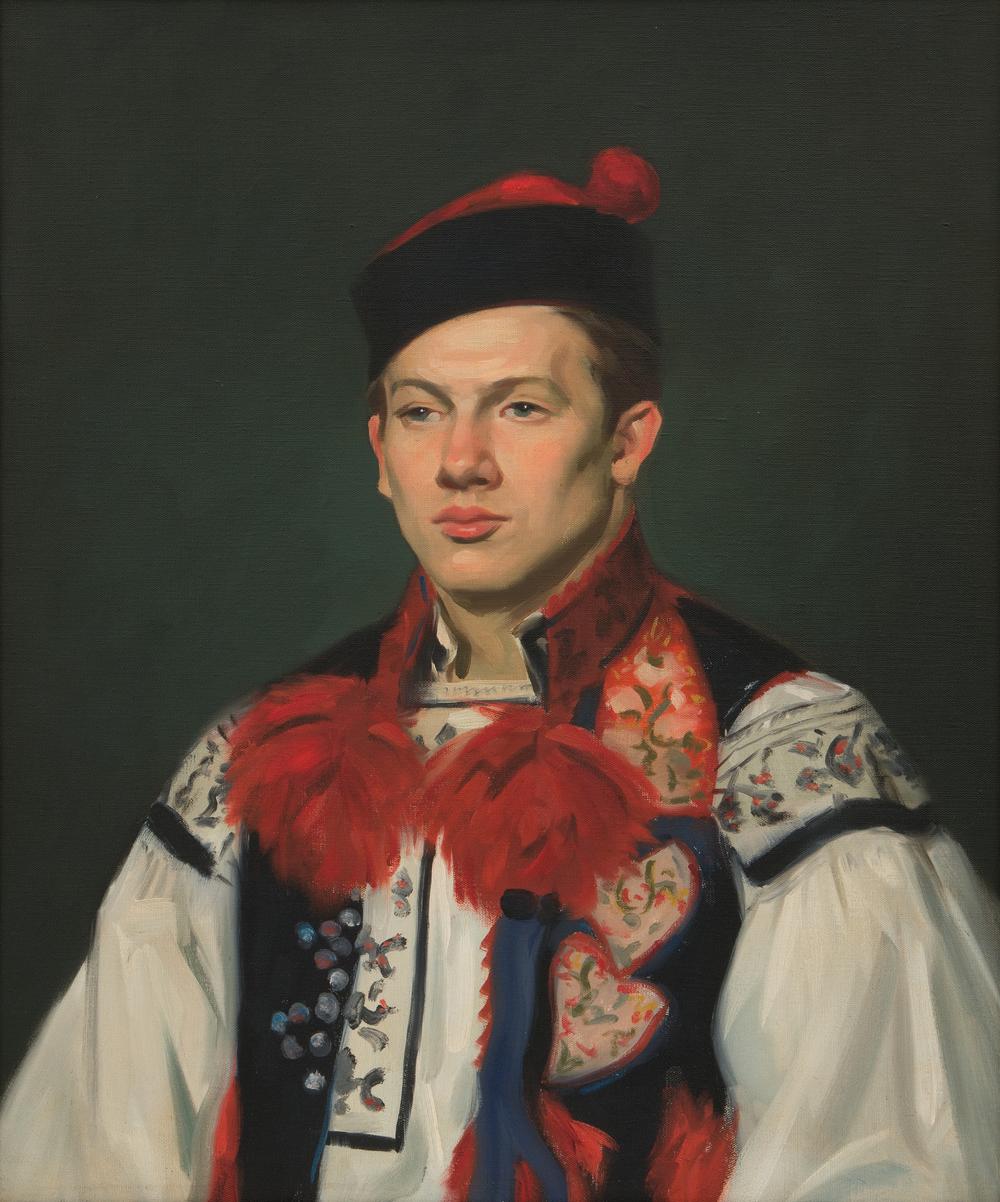 Albert Alexander Smith Czech Portrait