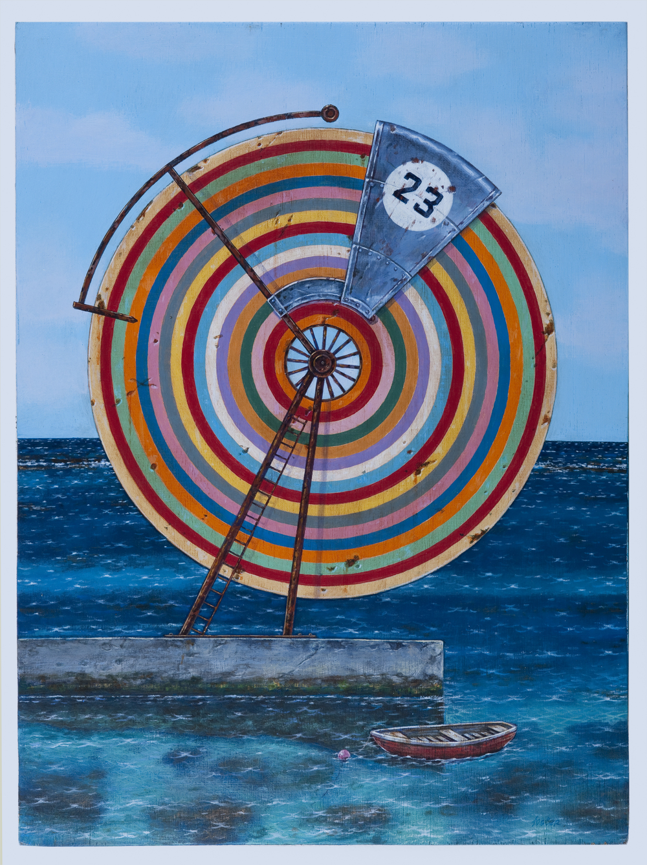 Foster, Rainbow wheel at Deep Dene  No. 23