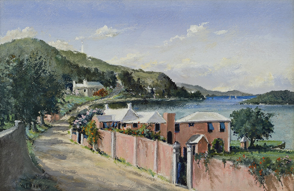 Warren Francis Snow:  The Waterlot Inn