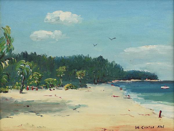 Henry Curtis Ahl, Bahamas Beach