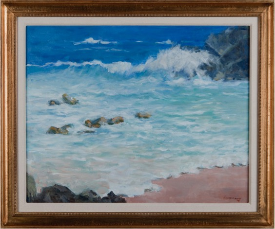 John Kaufmann Near Jobson's Cove Framed Final.jpg