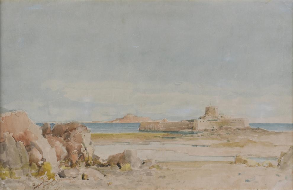 Prosper Louis Senat - St Aubins Fort Jersey
