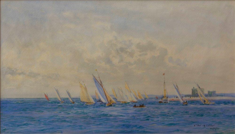 William Lionel Wyllie - South Coast of England