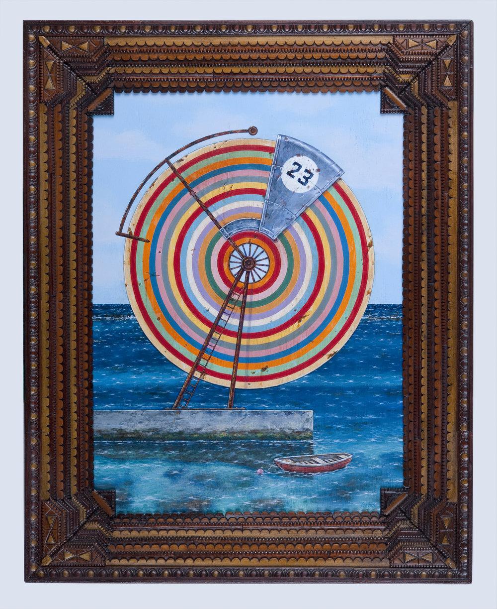 Rainbow Wheel at Deep Dene No. 23