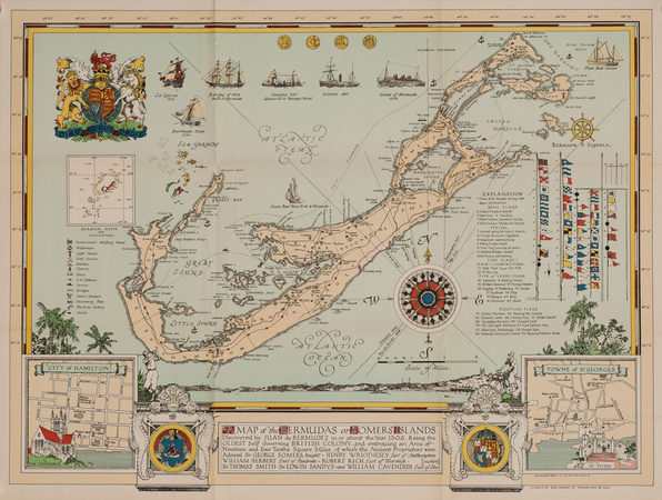Maps — Bermuda, Caribbean and West Indies Art - The Lusher Gallery ...