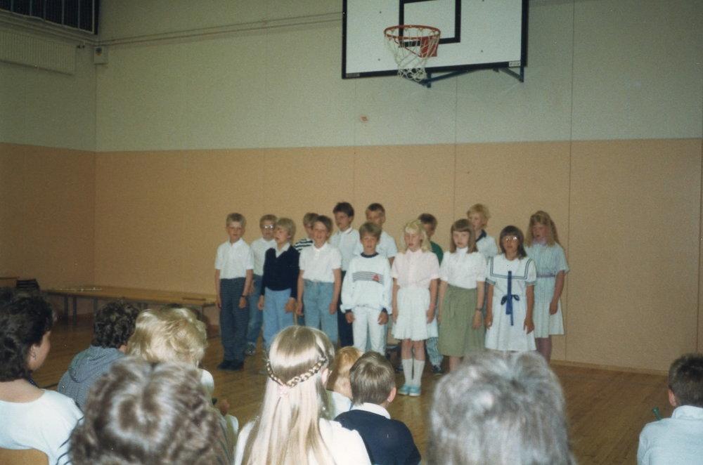 Ebbo skola 80 talet - Det var en gång ..