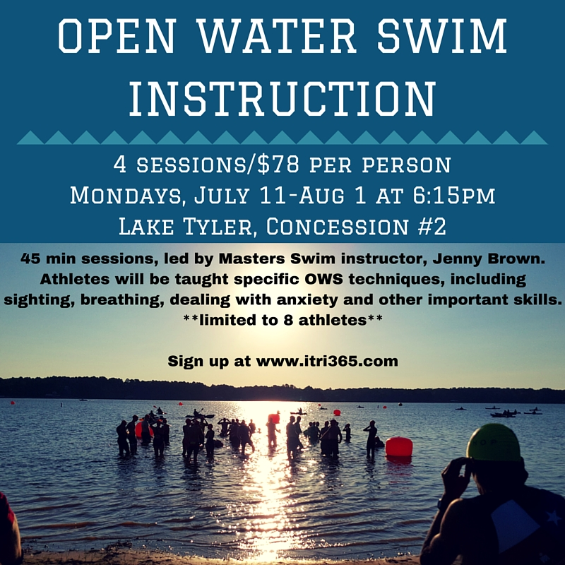 Open Water Swim Instruction