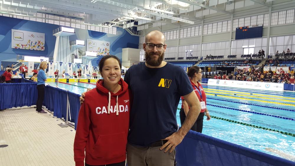 Sarah et son coach