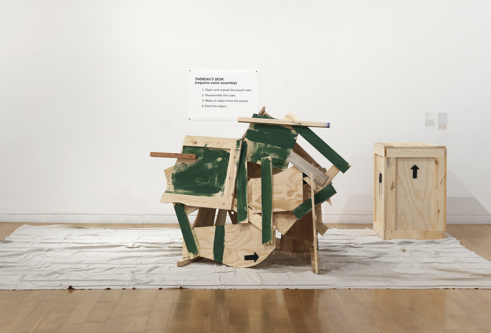 Thoreau's Desk , premiere recording 30 October 2014 (destroyed)