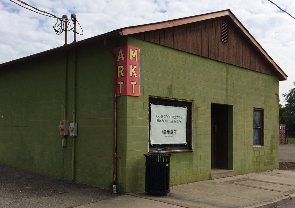 Art Market™, located at 1382 South Fourth Street in Columbus, Ohio, will open eventually.