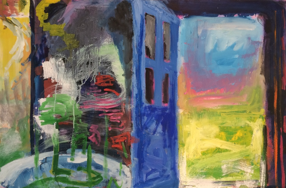 "Liz Carney, ""Blue Door"""