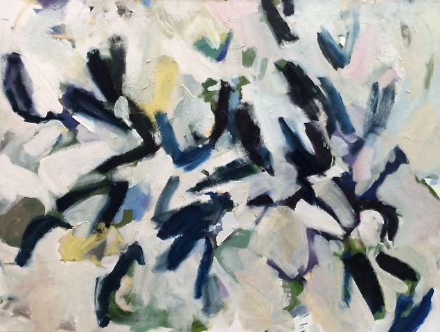 "Helen Grimm,  Mussels 16 , oil on canvas, 36"" x 48"""