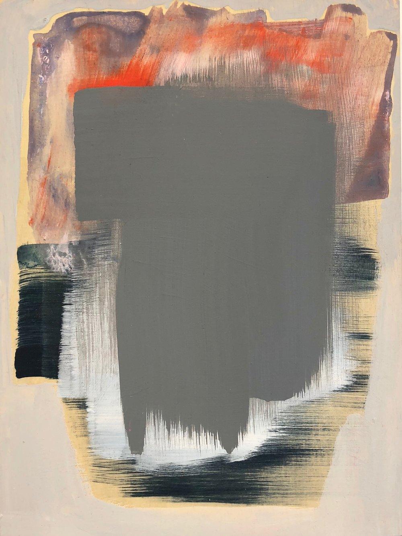Paul Rizzo - Untitled (Grey Swath)