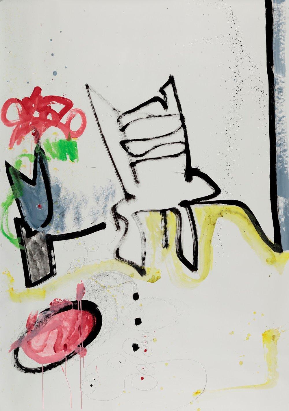 Laura Shabott - Blue Chair #1
