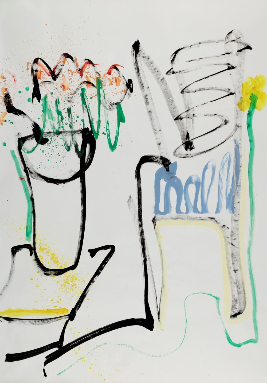 Laura Shabott - Blue Chair #2
