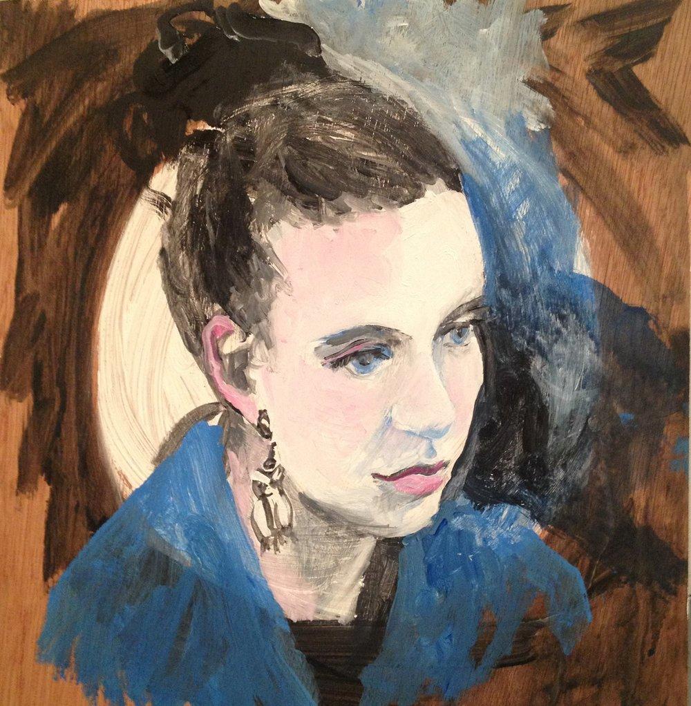 Liz Carney -  Grace in Blue