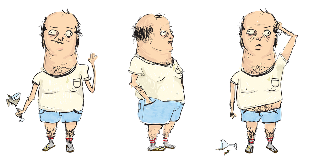 'Douglas'  Character Design