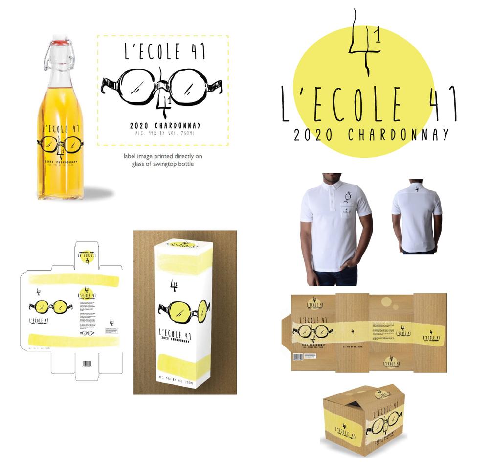 'L'Ecole' Wine  Logo Design & Branding