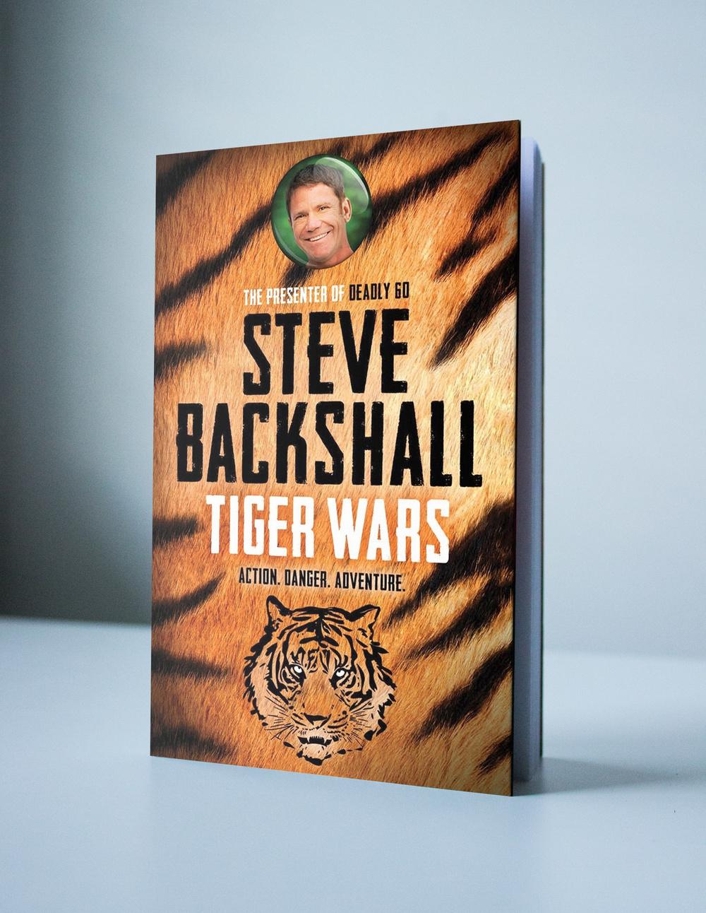 Steve Backshall Tiger Wars