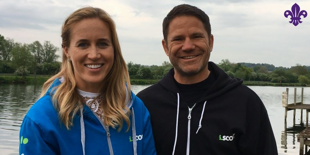 Scouts and Explorers are going into the wild for 24 hours with Scout Ambassadors Steve Backshall and Helen Glover http://bit.ly/2fFDEFy