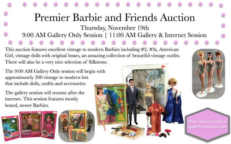 Premier barbie friends auction apple tree auction center click here to download the internet catalog sciox Images