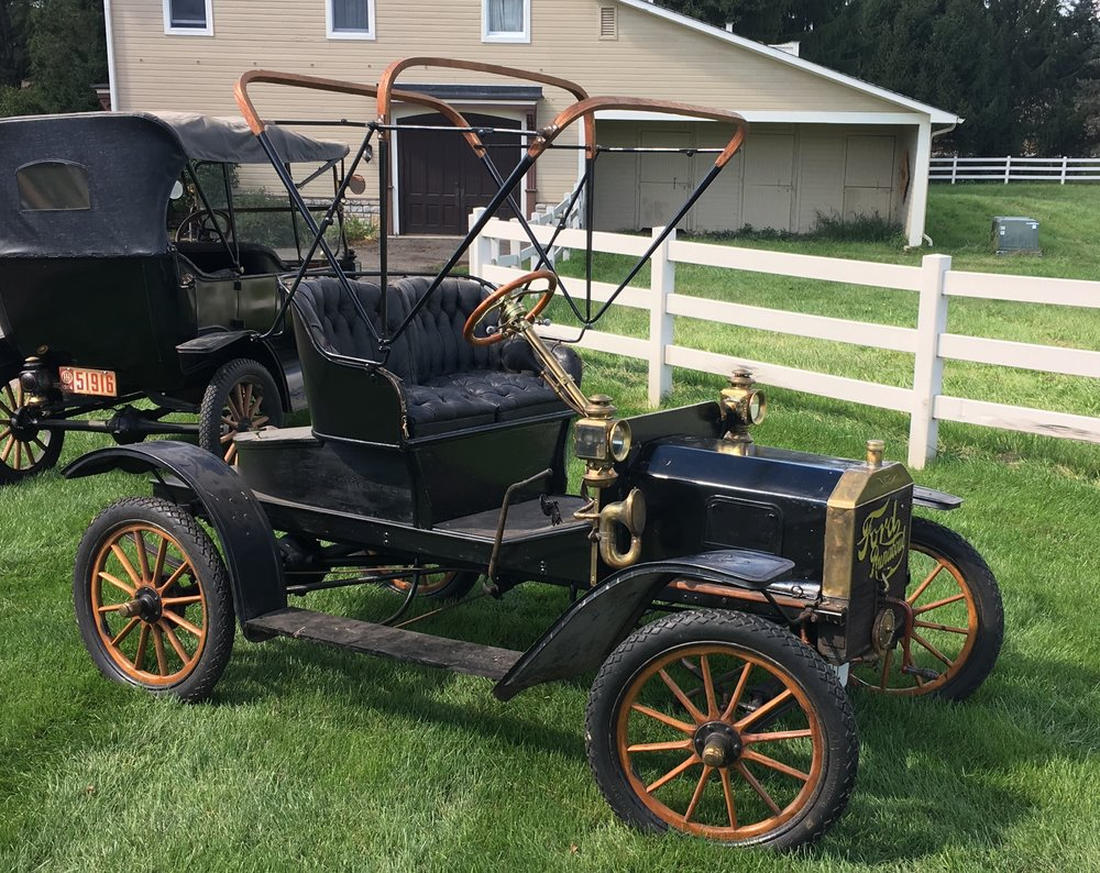 1908 Ford Model S Boattail Runabout