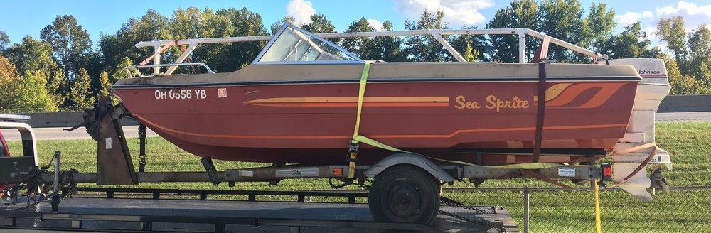 1983 16' Sea Sprite Runabout Boat