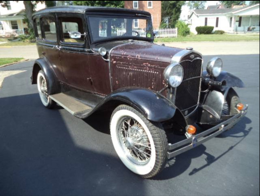 1931 Ford Model A Slant Window