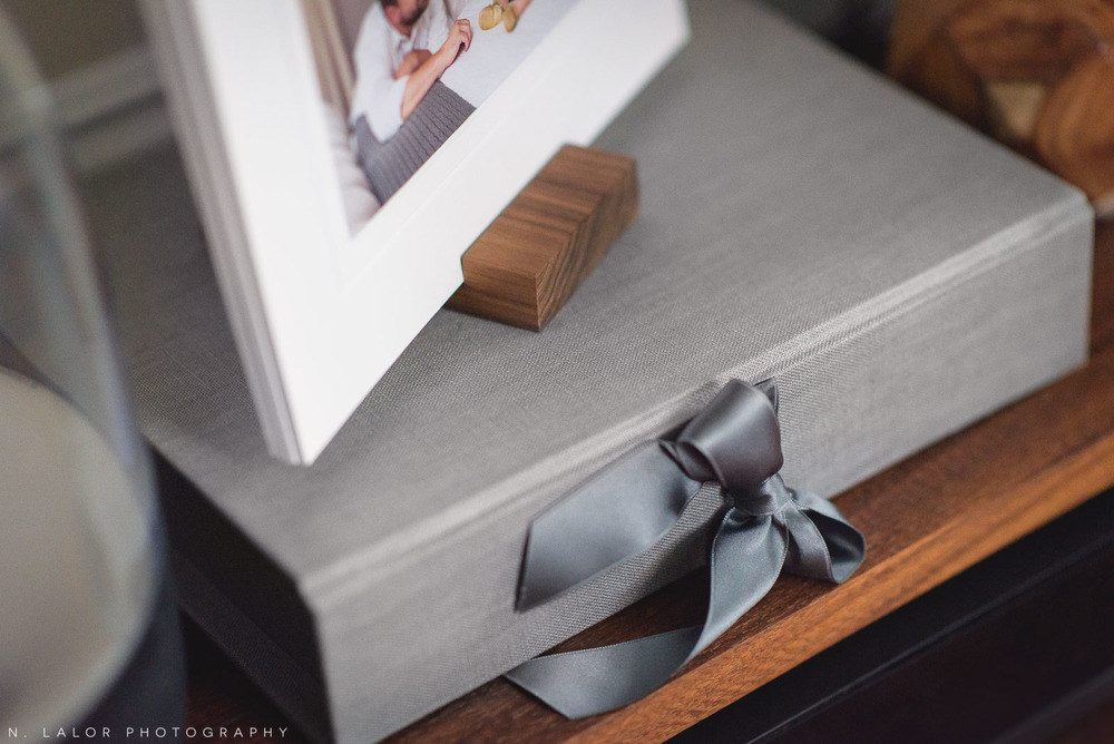 N. Lalor Photography presentation box for photographs.