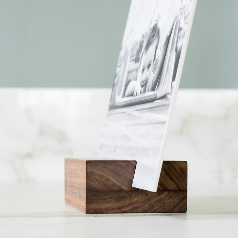 Wood block & print from Saw & Mitre ($40+)