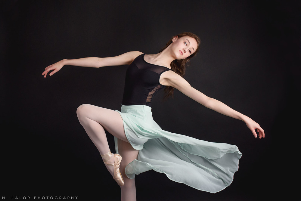 Ballet dancer photoshoot by N. Lalor Photography in Greenwich, Connecticut.