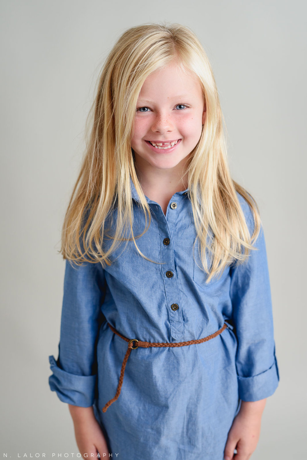 Looking so grown up. Studio photoshoot with N. Lalor Photography in Greenwich, Connecticut.