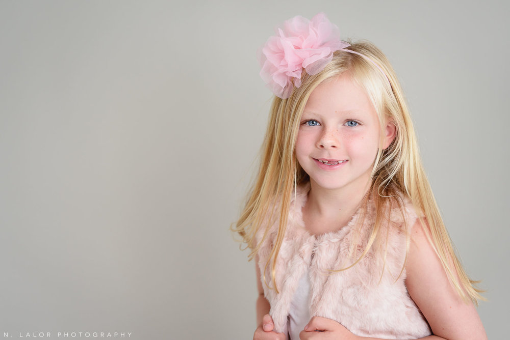 Pink every day. Studio photoshoot with N. Lalor Photography in Greenwich, Connecticut.