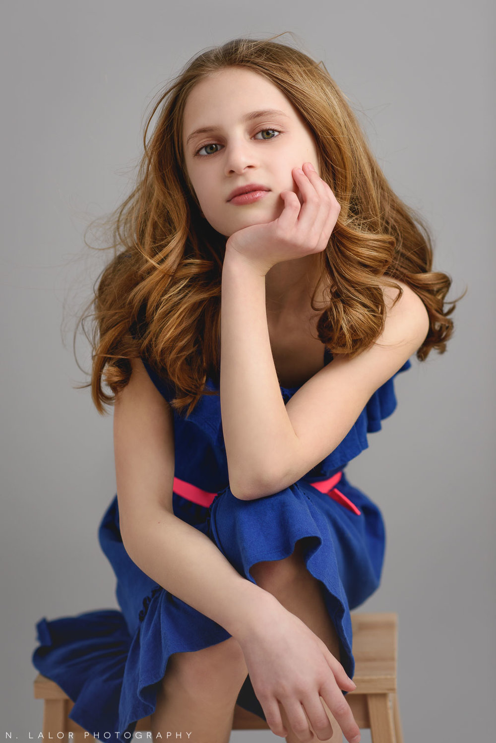 The look. Tween Studio photoshoot by N. Lalor Photography, located in Greenwich, CT.