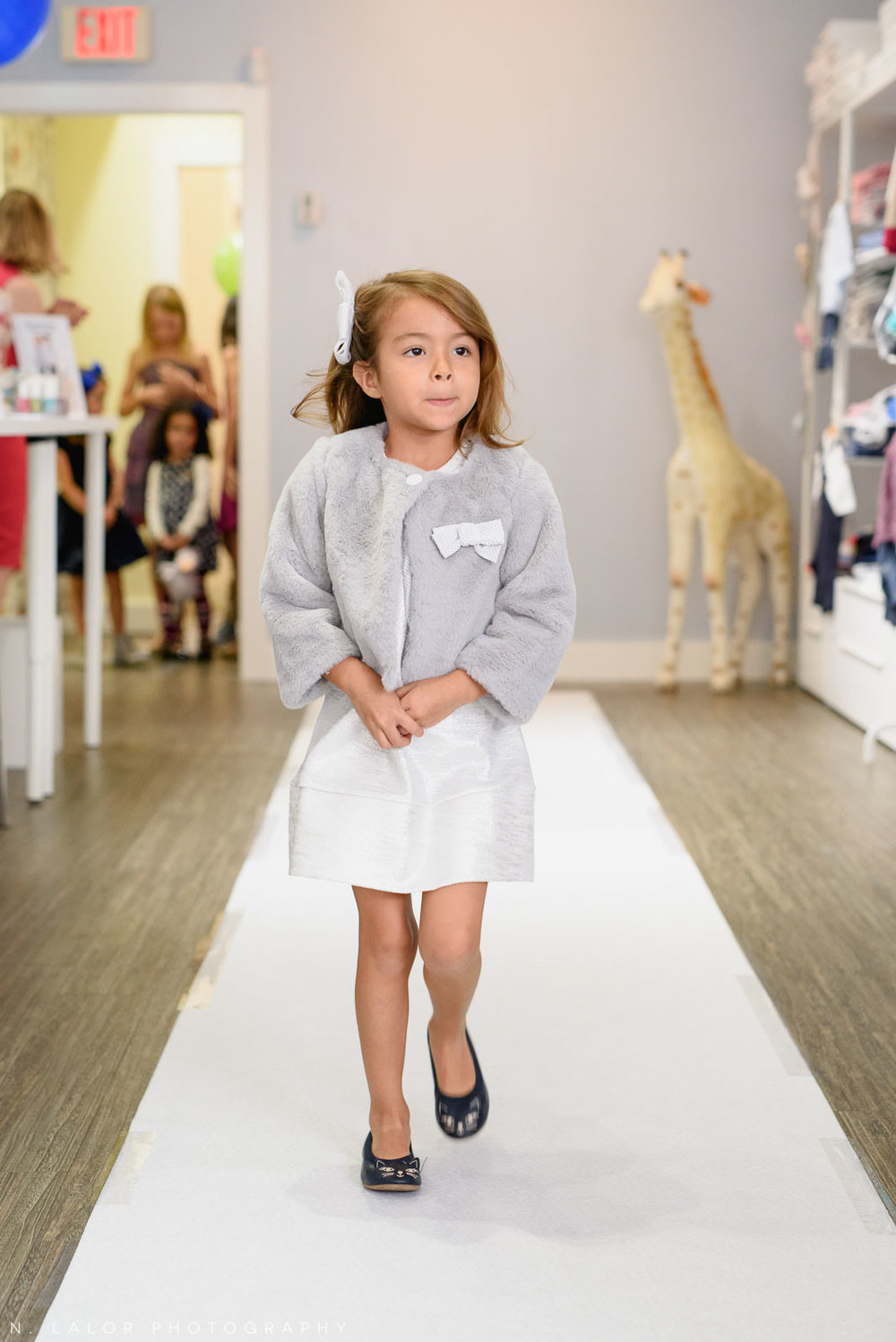 2017 Kids Fall Fashion Show at Ella & Henry in New Canaan, CT. Image by N. Lalor Photography.
